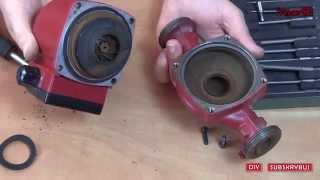видео Циркуляционный насос Grundfos UPS 25-25