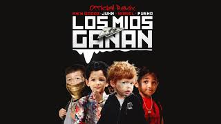 Miky Woodz Feat Juhn, Noriel & Pusho -  Los Mios Ganan Official Remix
