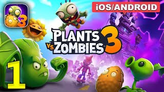 Plants vs. Zombies 3 Gameplay Walkthrough (Android, iOS) - Part 1