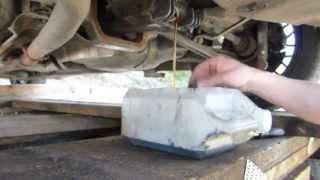 Comment faire une vidange de pont sur BMW E36