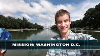 MISSION: WASHINGTON D.C. (Smithsonian Museum Vlog) | TheZFD PRO