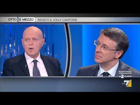 Raffaele Cantone - Ilvo Diamanti / Otto e Mezzo 15 marzo 2016