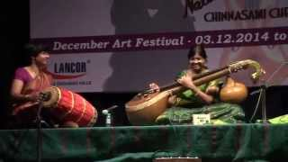 Veena Anjani - 20-12-14 [Amma Anandadayini] Brahmagana Sabha