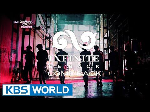 INFINITE - Back / Diamond [Music Bank COMEBACK / 2014.07.18]