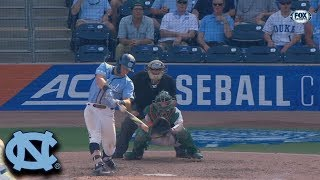 UNC Busch Ties Game With 2-Run Home Run