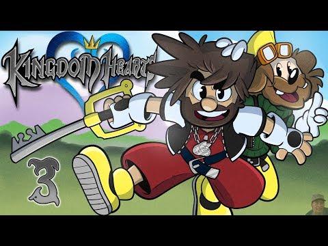 Kingdom Hearts | Let's Play Ep. 3 | Super Beard Bros.