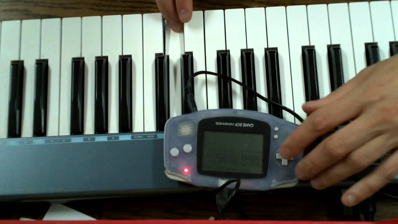 GBA to MIDI cable