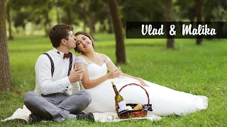 Очень красивая свадьба в Бишкеке. Владислав и Малика.