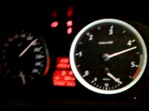 BMW 530d Nachts