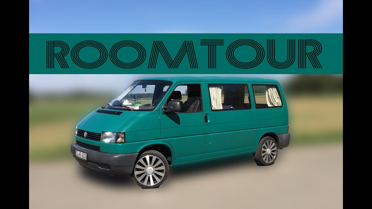 vw t4 camper ausbau roomtour youtube