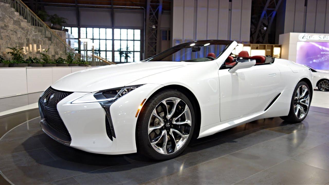 2020 lexus lc 500 convertible interior    exterior review