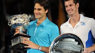 Roger Federer VS Andy Murray Highlight 2010 AO Final