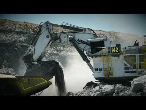 Liebherr - R 9600 Mining Excavator