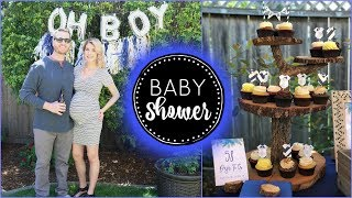 OUR BABY SHOWER | Boy Baby Shower Design & Decor