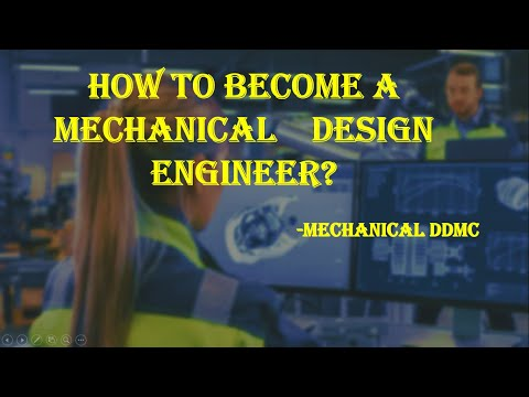 How To Become Mechanical Design Engineer Youtube