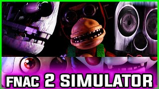 Five Nights at Candy's 2 Simulator - PLAY AS THE PENGUIN! (Five Nights at Freddy's Fan Game)
