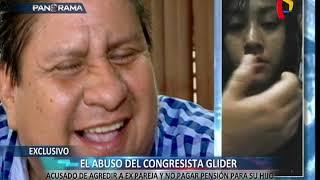 EXCLUSIVO: congresista Glider Ushñahua acusado de agredir a su expareja (1/2)