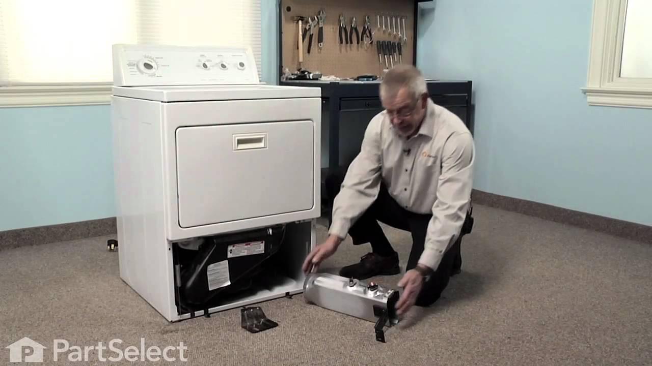 Dryer Repair Replacing the Thermal CutOff Kit (Whirlpool Part # 279769)  YouTube