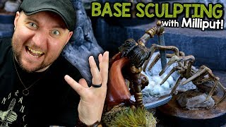 How to Sculpt Your Own Custom Miniature Bases with Milliput!