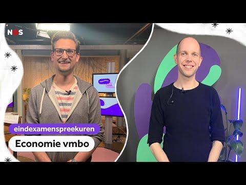 Examenspreekuur economie vmbo met docenten Jeroen en René van de Ecoshow