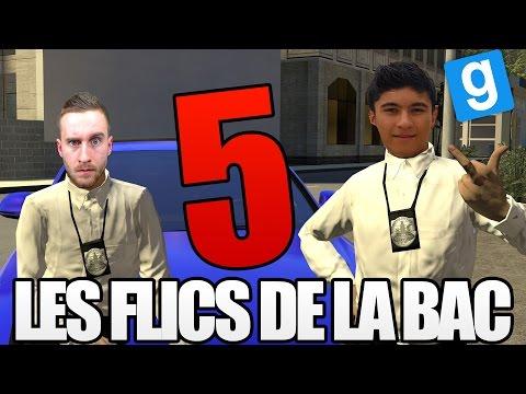 LES FLICS DE LA BAC 5 - Garry's Mod DarkRP