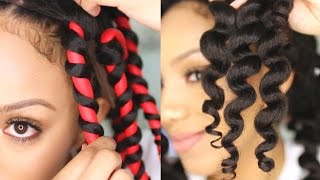 How to Get Perfect Flexirod Results on Natural Hair | Alyssa Forever