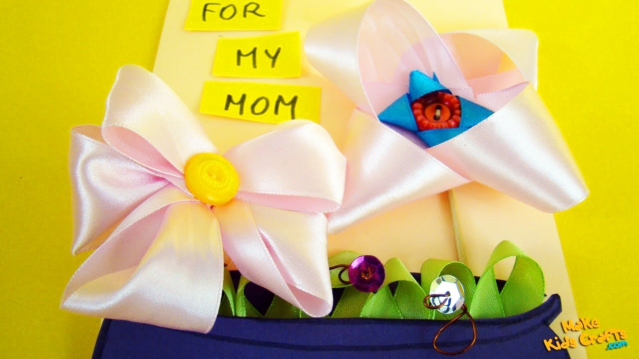 How To Make Mom Birthday Cards Diy Youtube