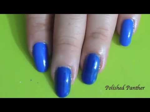 Sally Hansen Pacific Blue VS. Pacific Blue
