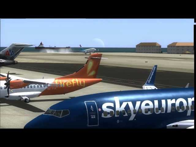 FSX HD VIDEO TOP DANGEROUS AIRPORTS Travel Video