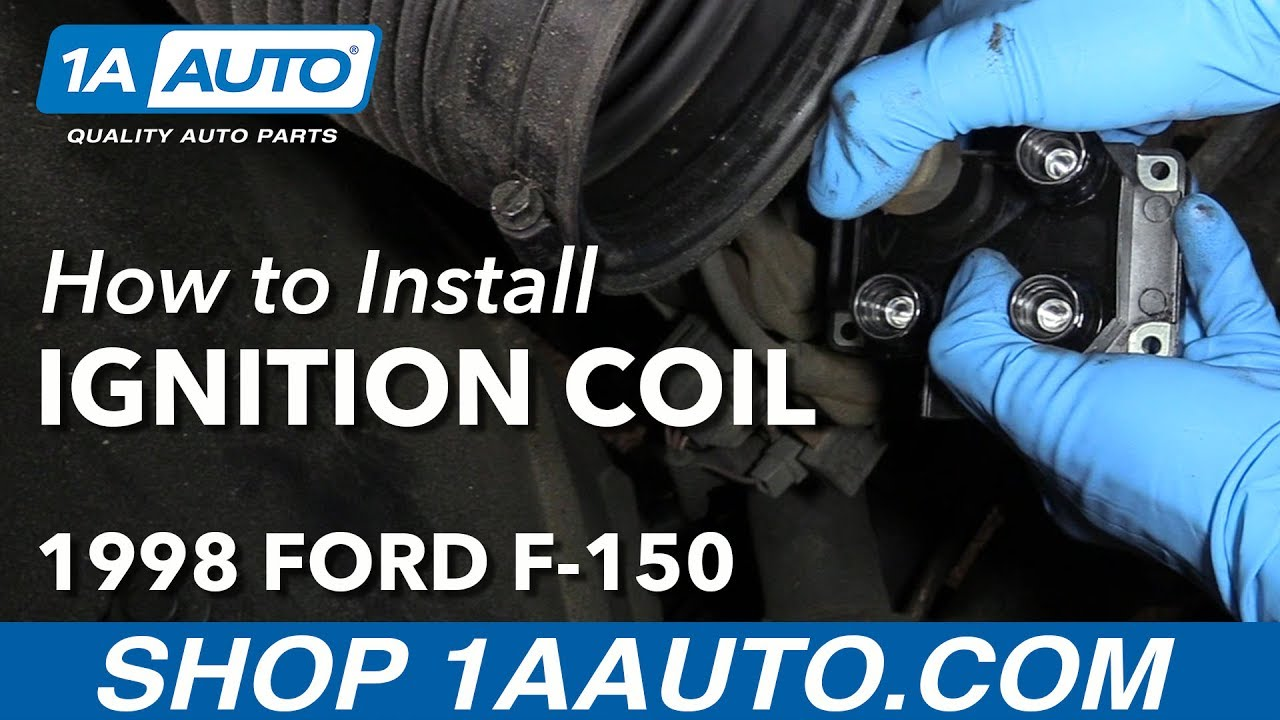 how to replace drivers side ignition coil 97-99 v8 4 6l ford f-150
