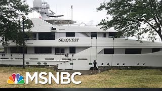 Betsy DeVos' Mega Yacht Gets Vandalized | All In | MSNBC