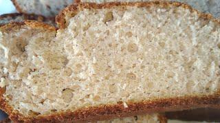 Гречнево-рисовый хлеб без глютена