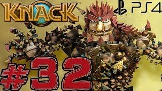 Knack - Part 32 - Attack pattern (PS4) (Walkthrough)