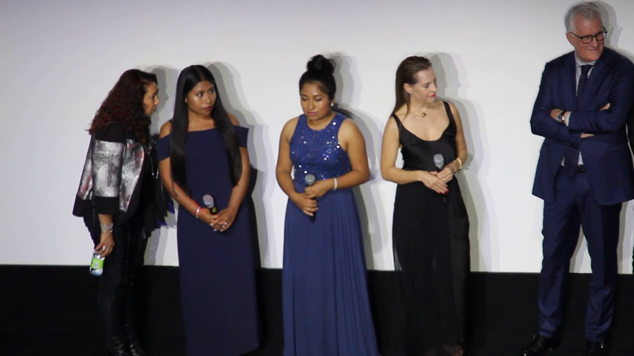 The Cast Of Alfonso Cuaron S Roma Q A At Tiff 2018 Youtube