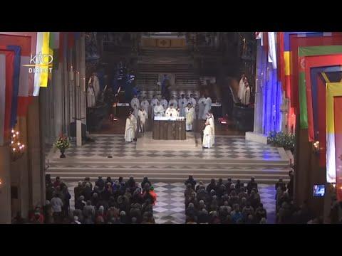Messe de la Toussaint à Notre-Dame de Paris