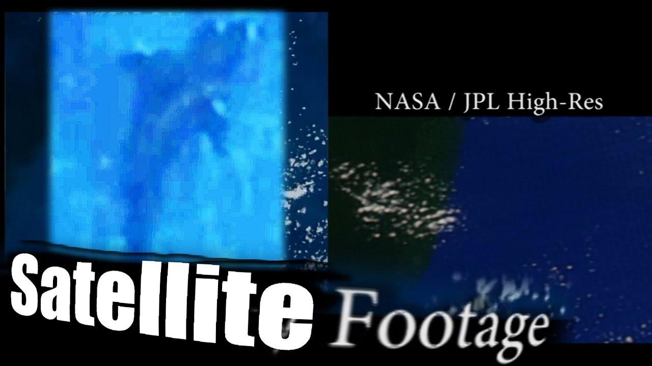 Megalodon Shark Caught On Tape NASA Satellite Footage Real Of - Satellite footage