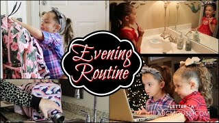 EVENING and NIGHT ROUTINE with KIDS after SCHOOL