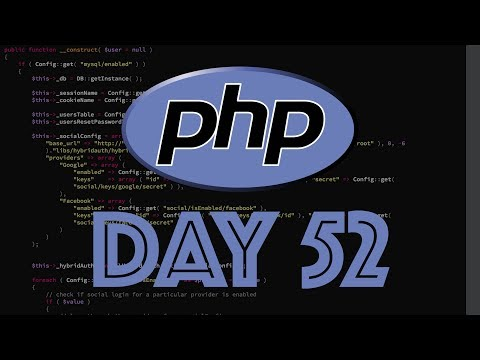 PHP Web Framework Day 52 - Updated Wiki & Database Table Name Changes