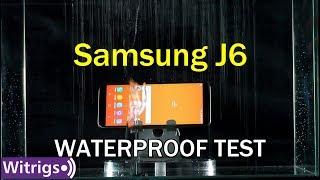 Samsung Galaxy J6 Waterproof Test