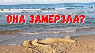 АНАПА   7.30 УТРА   ПАР ИЗ РТА... ТАК ХОЛОДНО  17.09.2019