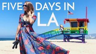 Five Days in LA!