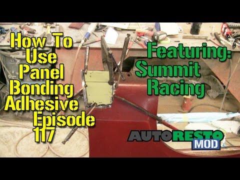How To Use Panel Bonding Adhesive Autorestomod Episode 117
