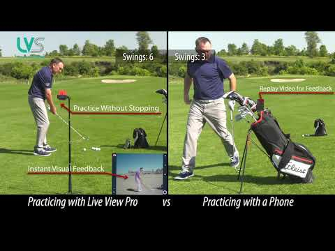 Live View Golf vs. Phone Video