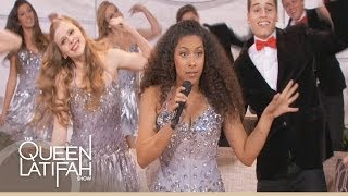 Los Alamitos Choir Performs on The Queen Latifah Show