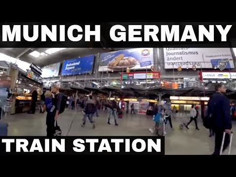 Munich Germany - The Train Station