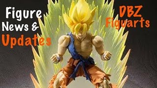 Action Figure News #18 SHF Awakened Warrior Goku - SHF Adv Color SS Vegeta & SHF Adv Color Trunks