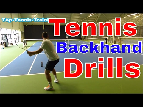 Backhand WARS Part 2 - Tennis Backhand Drills