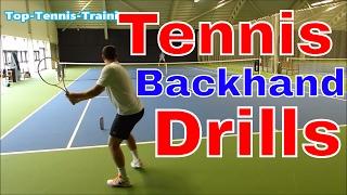 Video Backhand WARS Part 2 - Tennis Backhand Drills download MP3, 3GP, MP4, WEBM, AVI, FLV Agustus 2018