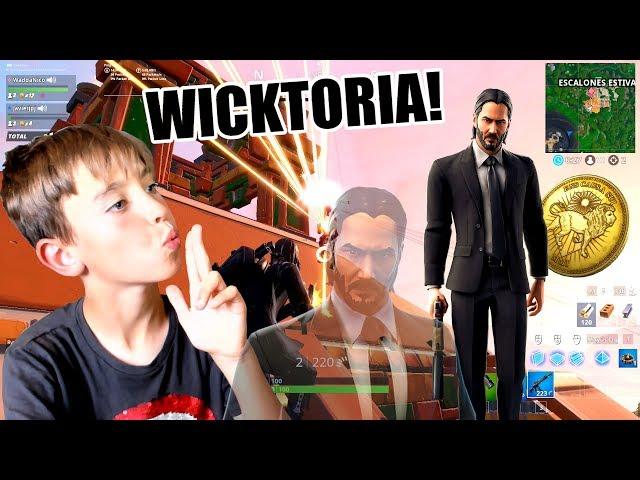 GANANDO EN EL NUEVO EVENTO JOHN WICK DE FORTNITE
