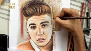 Coloring Justin Bieber By Juan Andres